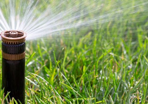 Gartenbewässerung in Burgdorf