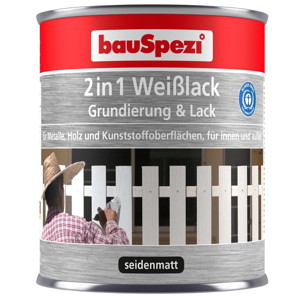 bauSpezi Weißlack