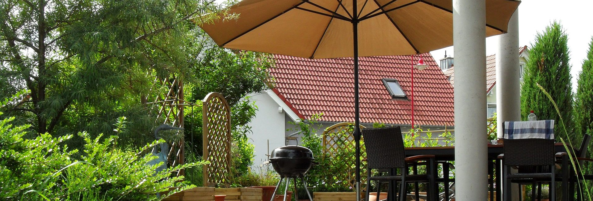 sonnenschutz f r terrasse und balkon baul we bau und. Black Bedroom Furniture Sets. Home Design Ideas
